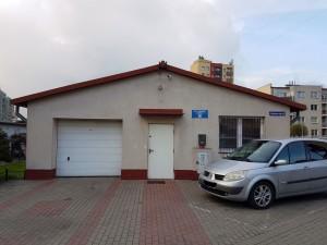 budynek administracyjno-garażowy przed remontem