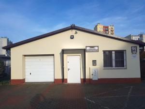 budynek administracyjno-garażowy po remoncie