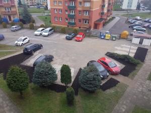 Wł. Jagiełły 7 - plac parkingowy po remoncie