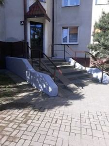 Rokicka 21A schody