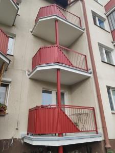 Rokicka 2- balkony po remoncie